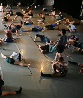 Gaga/dancers class